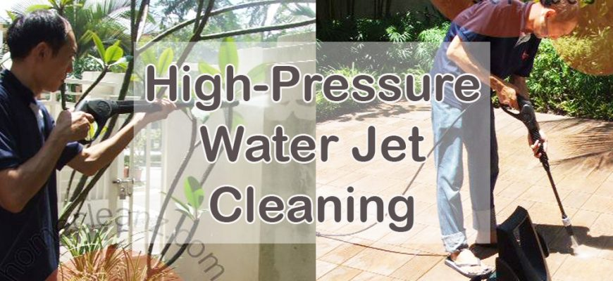 Benefits of High Pressure Cleaning For Outdoor Areas