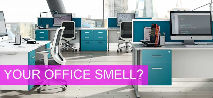 Does Your Office Smell? This Will Make You Sick
