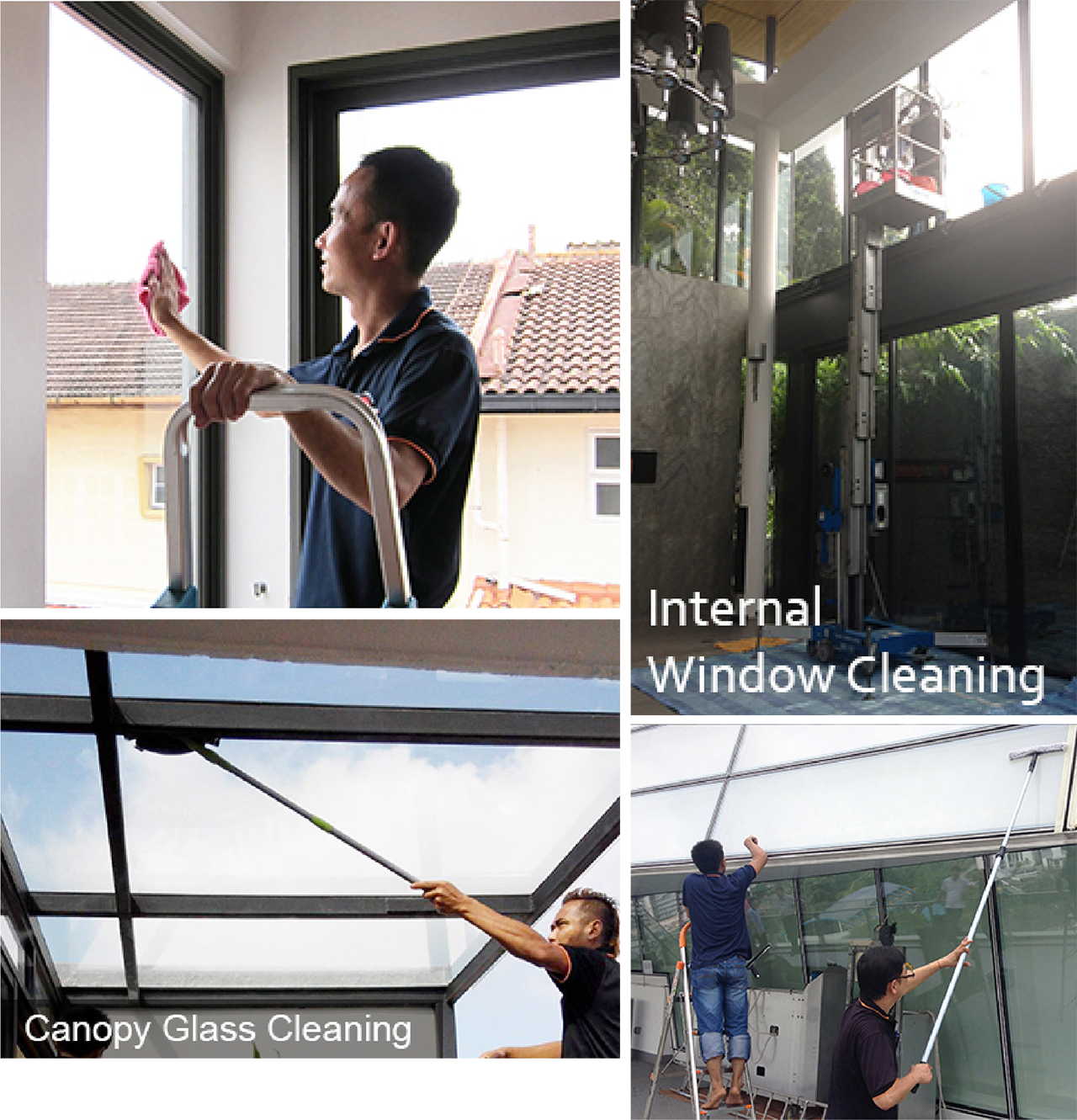 Window Cleaning - Your Professional One-Stop Cleaning Services
