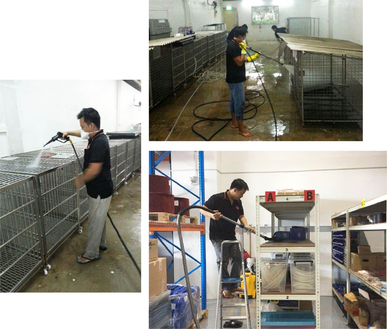Warehouse Industrial Clean Your Professional One Stop