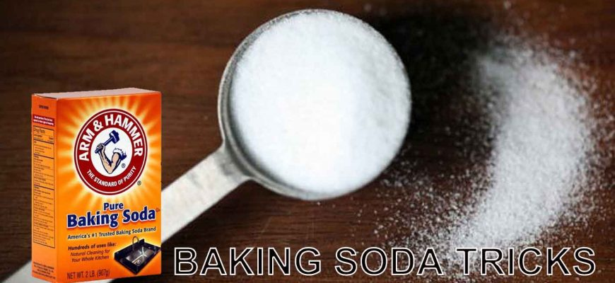 Tricks With Baking Soda Every One Should Know