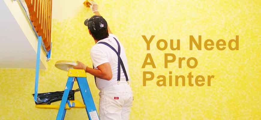 Should You Hire a Pro For Painting Your House?