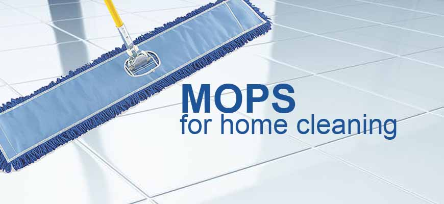 Common type of mop in home cleaning
