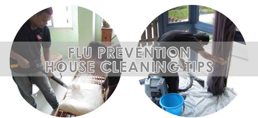 How to prevent the flu virus from your home