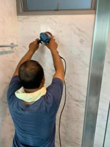 polish marble wall