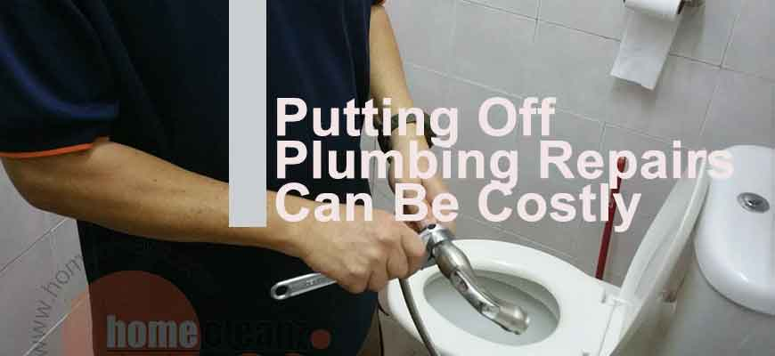 Putting Off Plumbing Repairs Can Be Costly