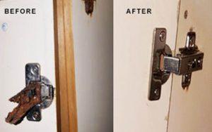 fix cabinet Hinge