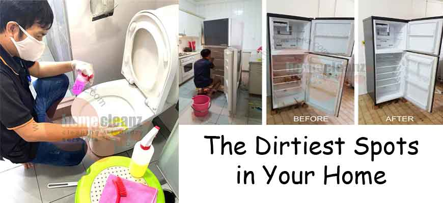 The Dirtiest Spots in Your Home